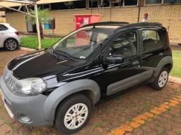Fiat Uno Way 2012 Completo Pneus Novos e IPVA 21 Pago