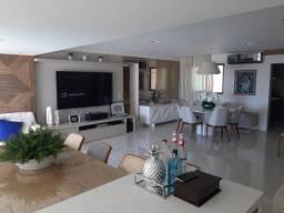 Apartamento Alphaville Le Parc 3 suítes 142m2 Nascente Finamente Decorado Oportunidade