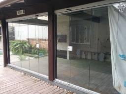 Vidro deslizante para fechamento de áreas sistema Euroglass