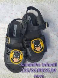 Sandalhas novas preço promocional