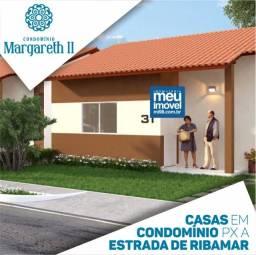 85 Condomínio Margareth alencar 2, casas com 2 quartos, 50 m²ano novo casa nova