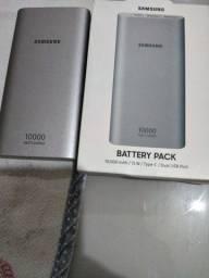 Samsung Power Bank Bateria portátil com nota 10.000 mah