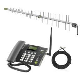 Antena Celular Rural Kit Completo todas operadoras