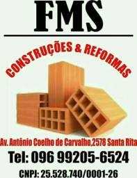 Fms reformas e construção