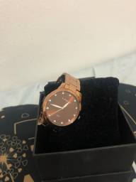 Relógio Lince rose gold