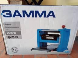 """Plaina Desengrossadeira 12"""" 1500w Gamma"""