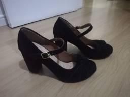 Sapato preto 37