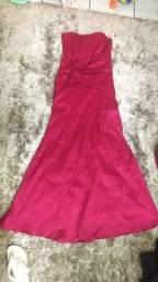 Vendo Vestido de Festa Seminovo