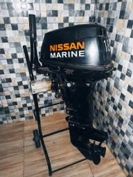 Motor Popa Nissan Marine 18 HP.
