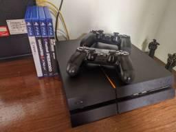 Playstation 4 (PS4) ACEITO CARTÃO