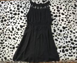 Vestido soltinho preto GG