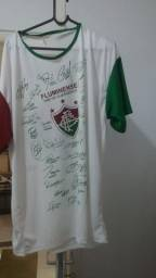 Camisa Fluminense comemorativa do tricampeonato brasileiro