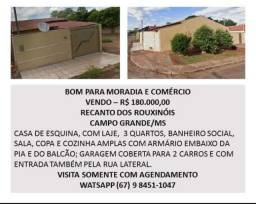 Vendo casa Campo Grande MS