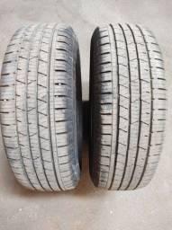 2 pneus seminovos 215/65R16 oportunidade