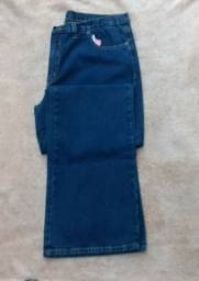 Calça jeans feminina 48