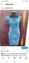 Vestido Tubinho Veludo