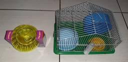 Casa+bola de hamster