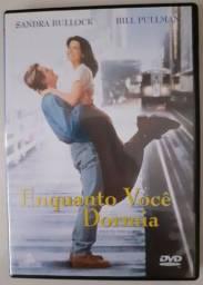 Dvd Original Filme Enquanto você dormia Novo