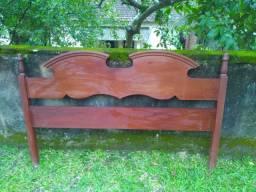 Cabeceira de madeiras para cama box de casal