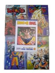 Mangás de Dragon Ball Editoras Panini e Conrad!!! Leia a descrição !!!