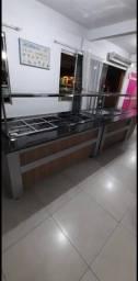 ## conjunto de buffet aquecido  e refrigerado pronta entrega