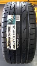 Jogo (4) de  pneu 225/35R 18 87W -Potenza S001 -Bridgestone