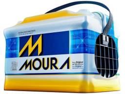 Baterias Moura 60AH novas com 18 meses de garantia por apenas R$320,00