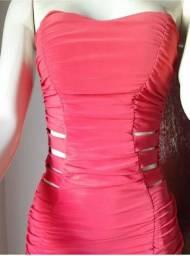 Vestido Tubinho-Vermelho