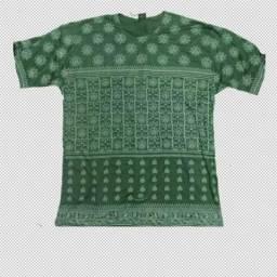 Camisa indiana estampada