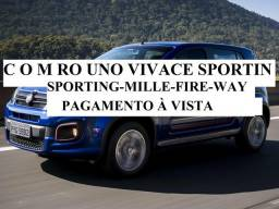 Fiat uno mille way sporting - 2012