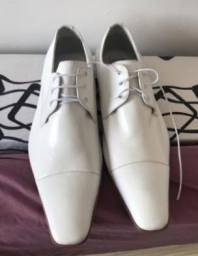 Sapato social branco