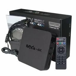 Vendo tvbox -mxq4k (transforma tv em smart)