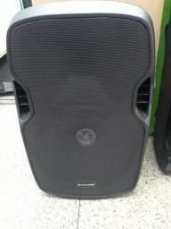 Caixa de Som Amplificada Multilaser Bluetooth 500W rms