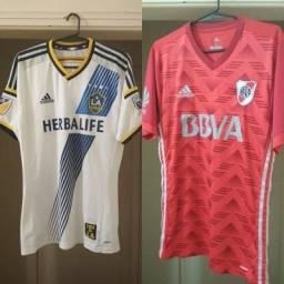 KIT Camisas Los Angeles Galaxy e River Plate Adizero Jogador 950eba62575e1