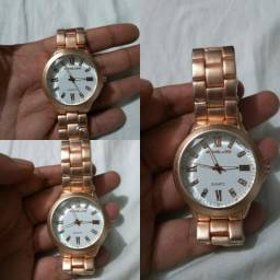 d23177b47fd Relógio Feminino Rosa Michael Kors