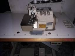 Maquina industrial overlock usada