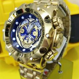 Relógio Invicta Venon Hybrid na caixa com anual