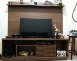 Rack + painel de TV