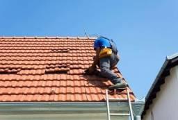 Reparos em telhados, calha rufos e pingadeiras tira goteira