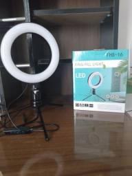 Ring light 16 cm - R$ 70