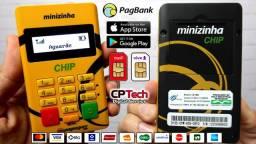 Maquininha PagSeguro Minizinha Chip e Wi-Fi - Feira de Santana-BA