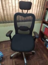 Cadeira ergonômica tela mesh
