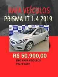 PRISMA LT 1.4 2019 R$ 52.900,00 - ERIC RAFA VEICULOS bxd8