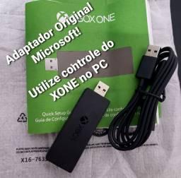 Adaptador Wireless use controle do Xbox One no PC, sem fio!