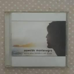 CD Oswaldo Montenegro - Entre uma Balada e um Blues