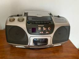 Som Aiwa - rádio, CD - funcionando perfeitamente