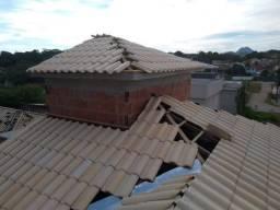 Telhado colonial,colocacao de portas,telhado de eternity