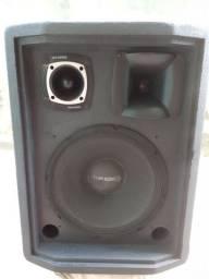 Um caixa de som.