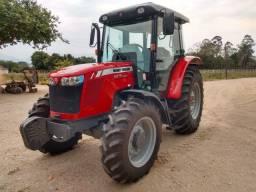 Trator Agrícola Massey Ferguson 4275  4x4  ano 2018 com cabine original