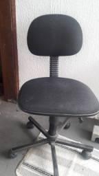 Cadeira de escritório giratória secretária